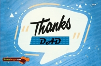 Thanks To My Dad Quotes