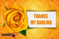 Thanks My Darling