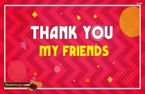 Thanks To My Friends