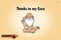 Thanks To My Guru