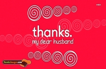 Thank You Husband For Loving Me