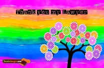 Thanks To My Lawyer