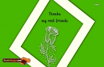 Thanks To My Real Friends